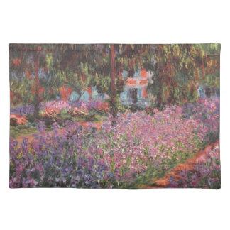 Givernyのクロード・モネ//の庭 ランチョンマット