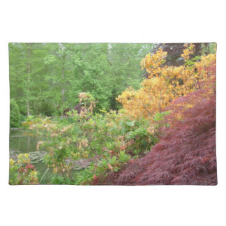 GivernyのランチョンマットのMonetの庭 ランチョンマット