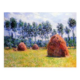 Giverny -クロード・モネの三角波 ポストカード