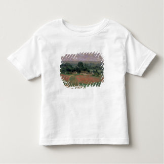Giverny 1886年のクロード・モネ|の三角波 トドラーTシャツ