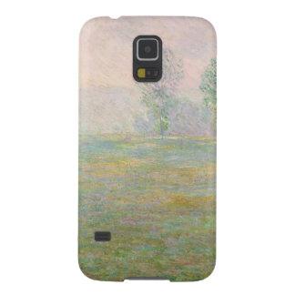 Giverny 1888年のクロード・モネ|草原 galaxy s5 ケース