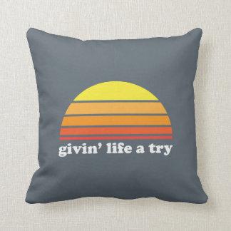 Givinの生命試みの枕 クッション