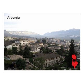 Gjirokastër、アルバニア ポストカード