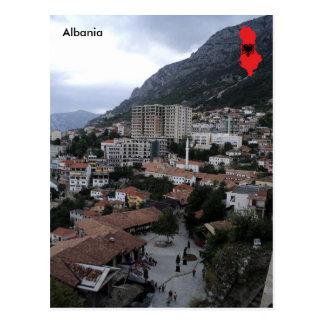 Gjirokastër、アルバニア- Shqipëria ポストカード