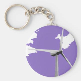 GKWFの紫色 キーホルダー