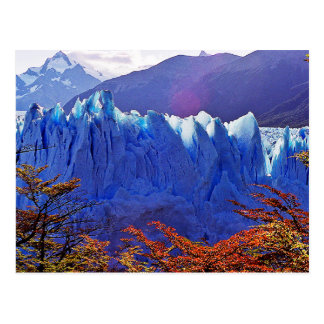 Glaciar Peritoモレノ ポストカード