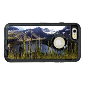 Glaicerのpark隠された湖 オッターボックスディフェンダーiPhoneケース