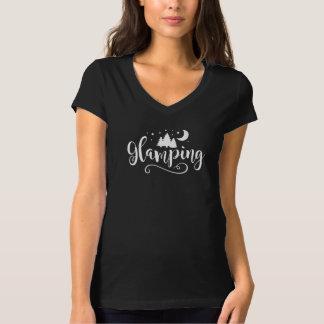 Glampingの上 Tシャツ