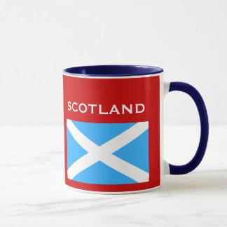 Glasgow*スコットランドの旗及び頂上のコップ マグカップ