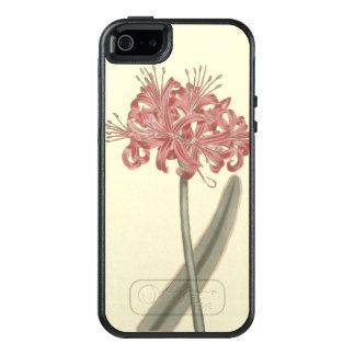 Glaucous Leavedアマリリスの植物の絵 オッターボックスiPhone SE/5/5s ケース
