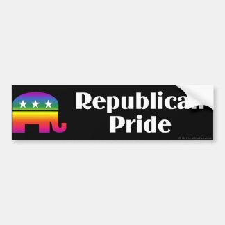 GLBTの共和党のプライド バンパーステッカー