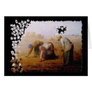 Gleanersのジグソーパズル カード