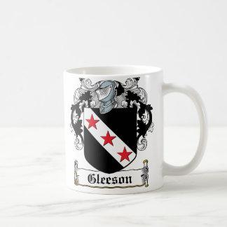 Gleesonの家紋 コーヒーマグカップ