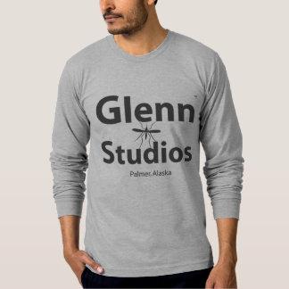 Glennのスタジオの長袖のワイシャツ Tシャツ
