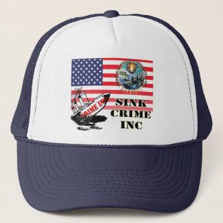 Glennの小川のお茶会の罪によって組み込まれる帽子 キャップ