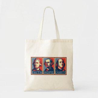 Glennの小川の信頼の希望の慈善のバッグ トートバッグ