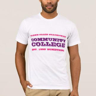 Glennエレンのコミュニティ・カレッジの人のワイシャツ Tシャツ