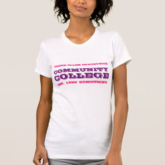 Glennエレンのコミュニティ・カレッジの女性のワイシャツ Tシャツ