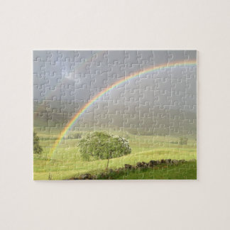 Glensheeスコットランドの二重虹 ジグソーパズル