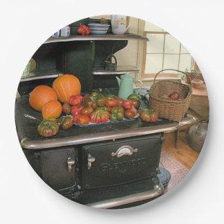 GlenwoodのCookstoveの収穫の紙皿 ペーパープレート