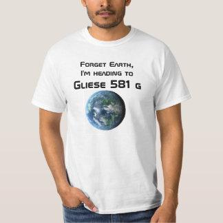 Gliese 581 gのティー tシャツ