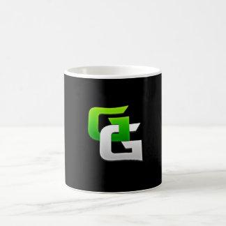 (Glitchingの賭博のマグ) コーヒーマグカップ