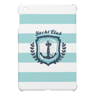 Glittlerのモダンな横のストライプな一見のきらきら光るなモダン iPad Mini Case