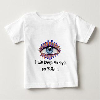 Globellium V1 -文字: あなたを監視して下さい ベビーTシャツ