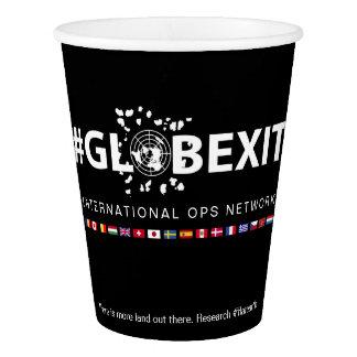#GLOBEXIT国際的なOPSのネットワークの紙コップ 紙コップ