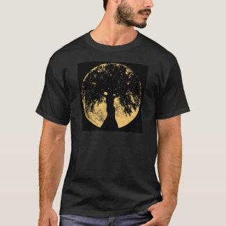 Gloweesの月のカシの女神 Tシャツ