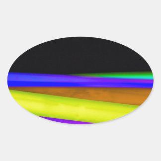 Glowsticks 楕円形シール
