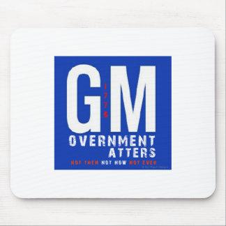 GMの政府の問題 マウスパッド