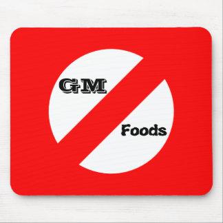 GM無し-遺伝的に変更された食糧mousepad マウスパッド