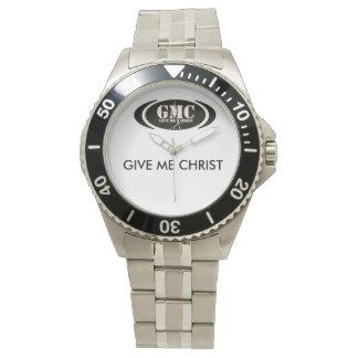 GMCのクラシックなステンレス鋼の腕時計、ステンレス鋼 腕時計