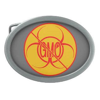 GMOのベルトの留め金の生物学的災害[有害物質]無しGMOのバックル無し 卵形バックル