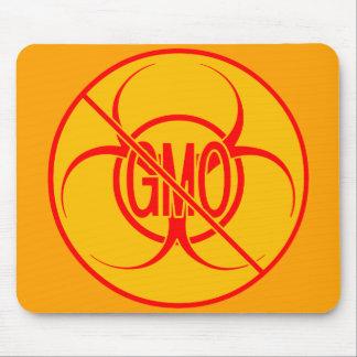 GMOのマウスパッドの生物学的災害[有害物質]の警告のマウスパッド無し マウスパッド
