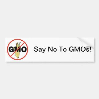 GMO無し バンパーステッカー