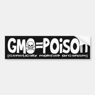 GMO=Poison バンパーステッカー