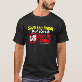 GMOsを買わないで下さい Tシャツ