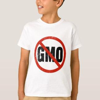 GMOs無しアンチGMO Tシャツ