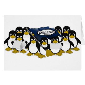 GNU/Linux! カード
