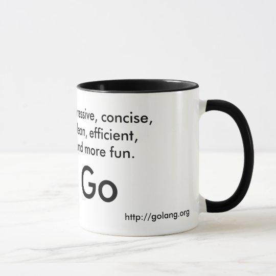 Go言語マグ マグカップ