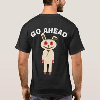 GO AHEAD ウサギ Tシャツ