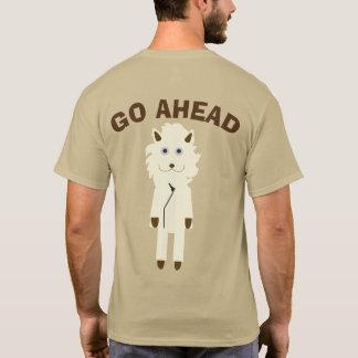 GO AHEAD ライオン Tシャツ