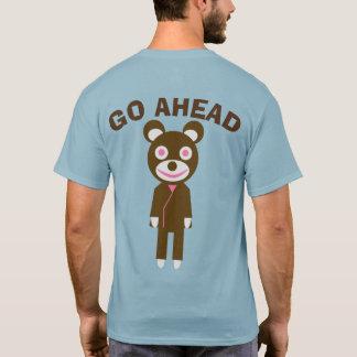 GO AHEAD 熊 Tシャツ