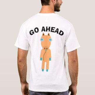 GO AHEAD 馬 Tシャツ