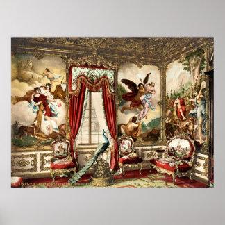 GobelinのタペストリーのLinderhof宮殿 ポスター