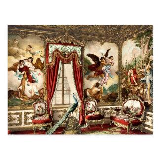GobelinのタペストリーのLinderhof宮殿 ポストカード