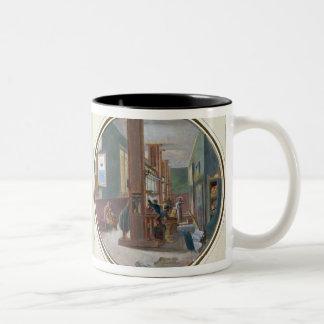 Gobelinsの研修会1840年 ツートーンマグカップ