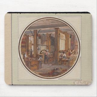 Gobelinsの研修会1840年 マウスパッド